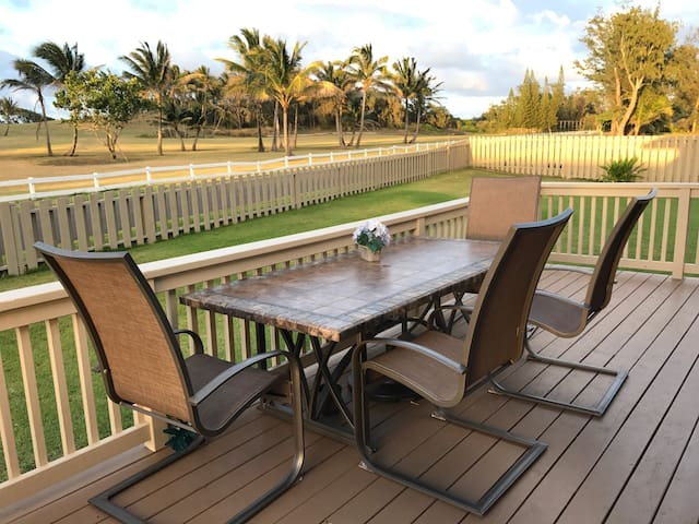Beautiful Beach Home on North Shore Golf Course! - Kahuku - Haus