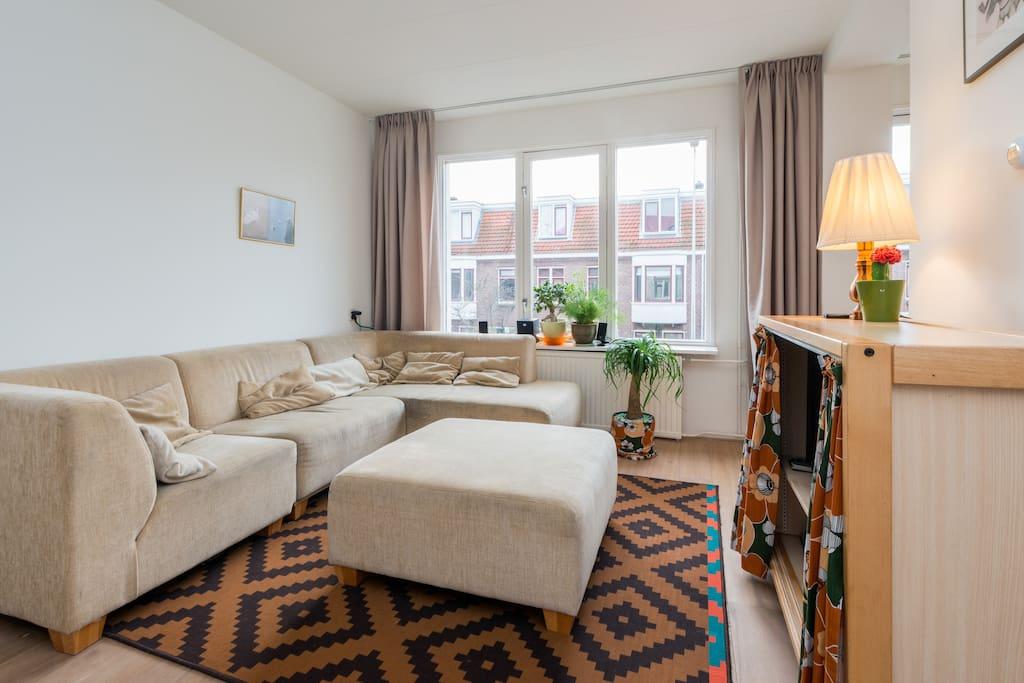 central spacious family apartment wohnungen zur miete in amsterdam noord holland niederlande. Black Bedroom Furniture Sets. Home Design Ideas