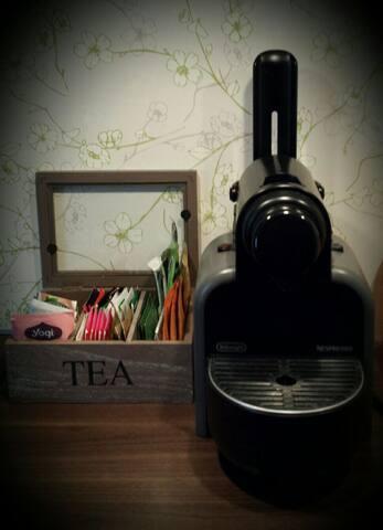 Nespresso & Tee für deinen Start in den Tag