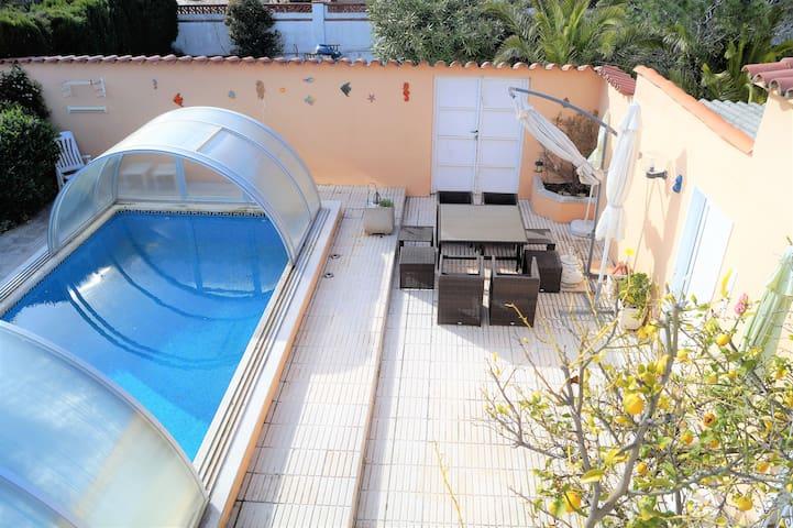 A07 Casa con piscina para 8 personas - El Mas Boscà - House