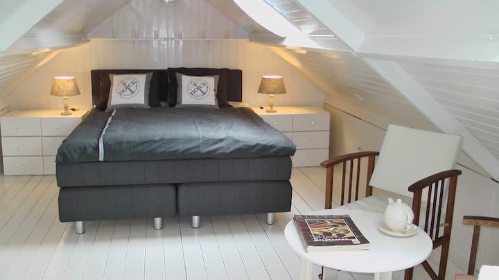 Comfortabel vrijstaand huisje.