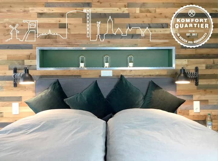 Komfortquartier EG - Apartment mit Balkon