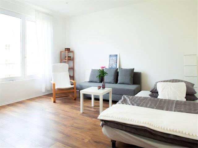 Komfortable Wohnung