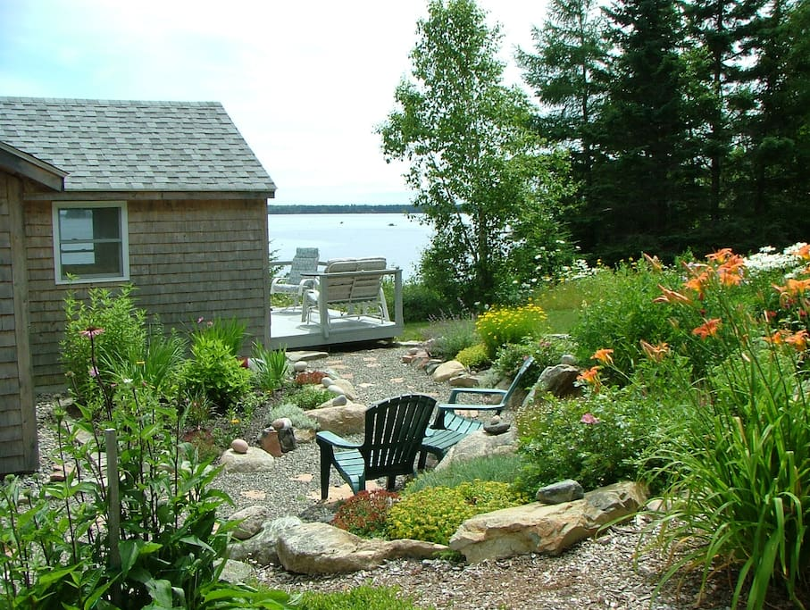 Landscaped by owners with beautiful perrenials