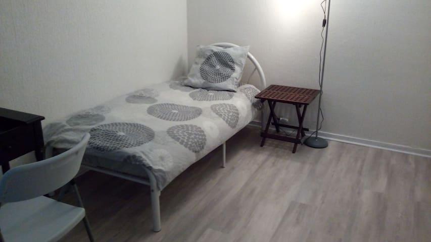 Chambre à un lit,propre et calme