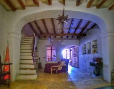 Habitación/ático en casa rústica
