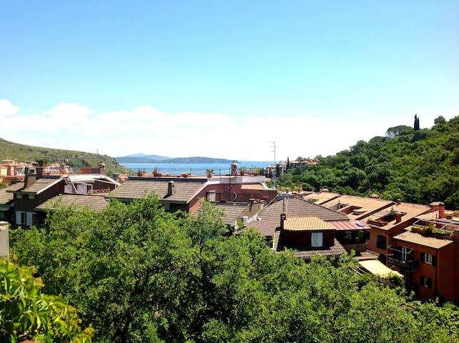 Porto Ercole: Garage & Terrace - Porto Ercole - House