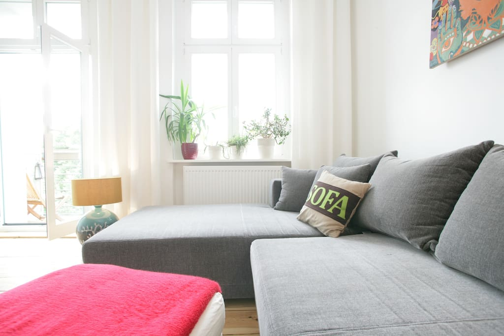 Große bequeme Schlafcouch/Large comfortable sofa bed