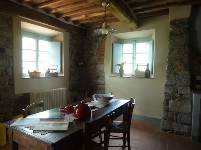 On vacation to organic farmers ... - Orbicciano Camaiore - Apartment