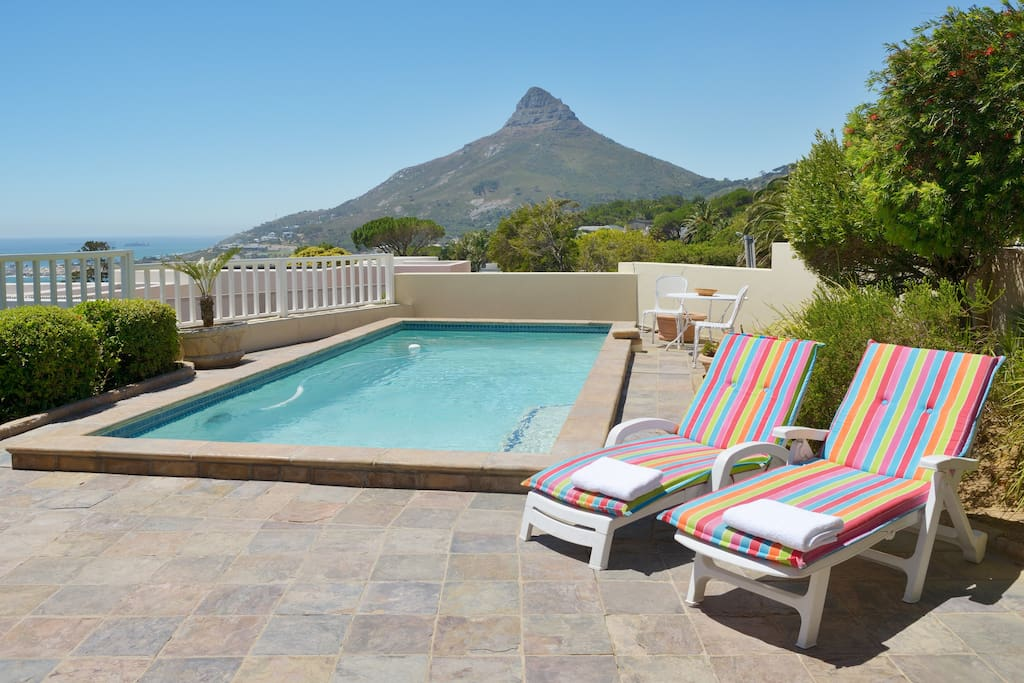 Lion's Head views from the pool