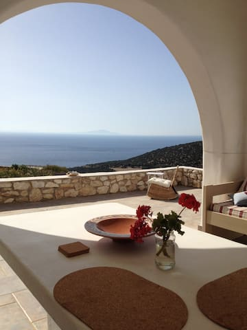 Nice Mesonette with fantastic view! - Paros - Hus