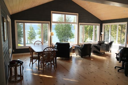 Waterfront Cottage @ Hope Bay on Georgian Bay - Hope Bay - Kabin