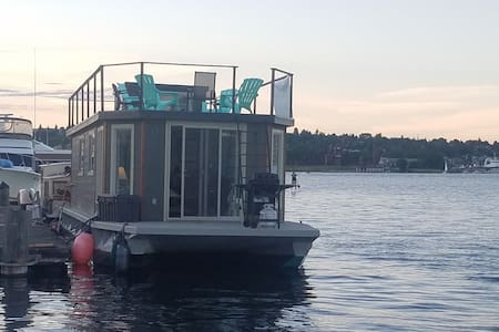 Jazzy Ginger Houseboat - Seattle