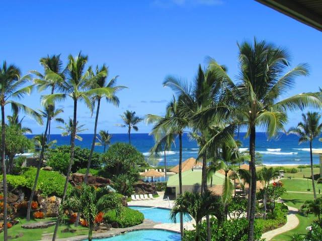 Pool, Resort and Ocean Views! - Lihue - Condominium