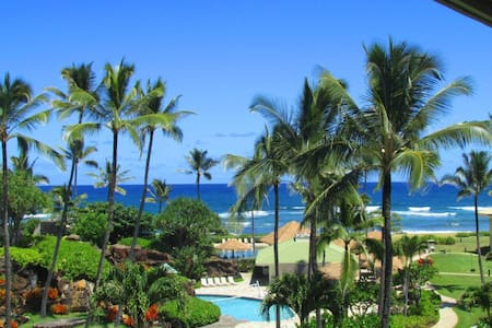 Pool, Resort and Ocean Views! - 리휴(Lihue)