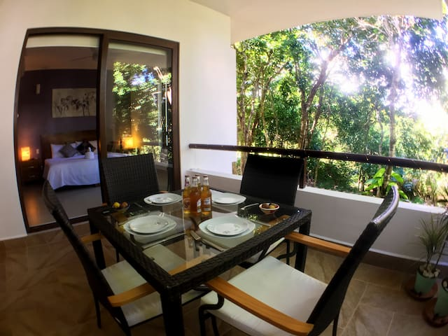HM3 Gorgeous Condo with View to the Lush Jungle - Akumal - Lägenhet