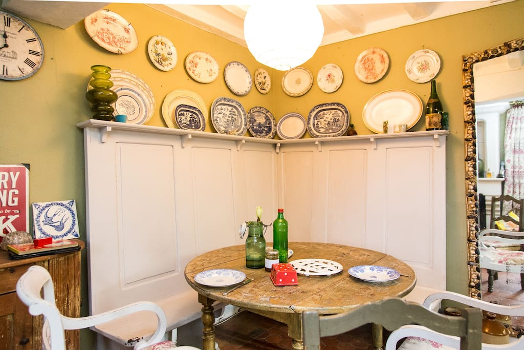 The kitchen where your delicious meals and breakfasts are prepared!