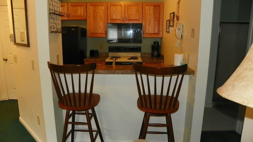 Main Kitchen at Deer Park Vacation Rental in the White Mountains