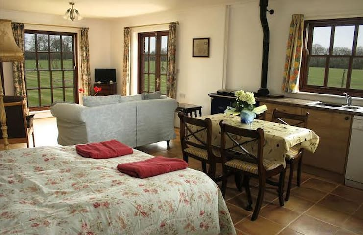 Linhay Farm-quiet,private,peacefull, dog friendly - Birtsmorton, Malvern - Bed & Breakfast