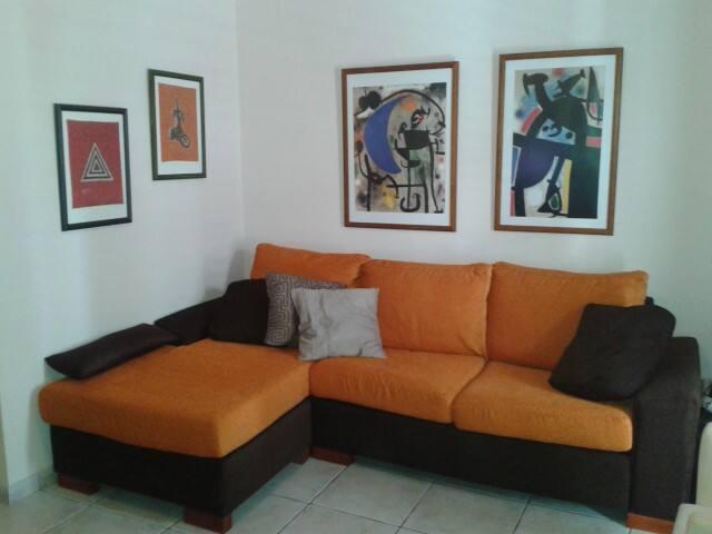 Amplio y confortable salón-comedor.
