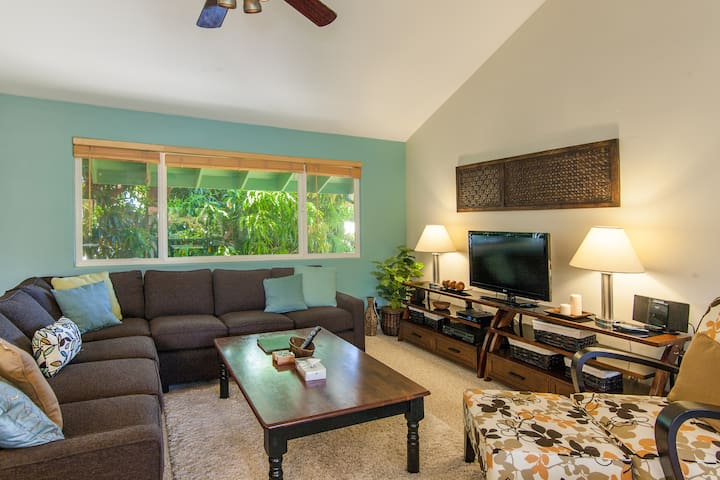 Spacious Home Only 2-Minute Walk From Poipu Beach! - Koloa - House