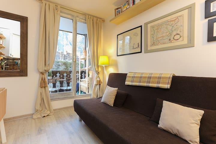 Chamonix-Sud Studio with Balcony