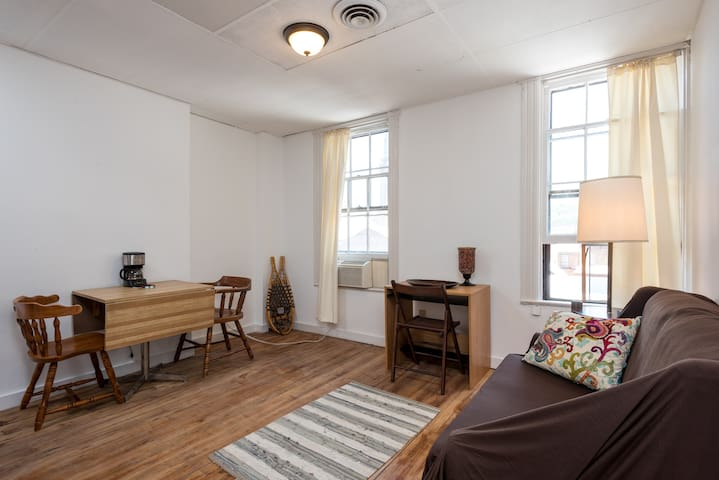 Affordable Downtown Extended Stay: The Francis