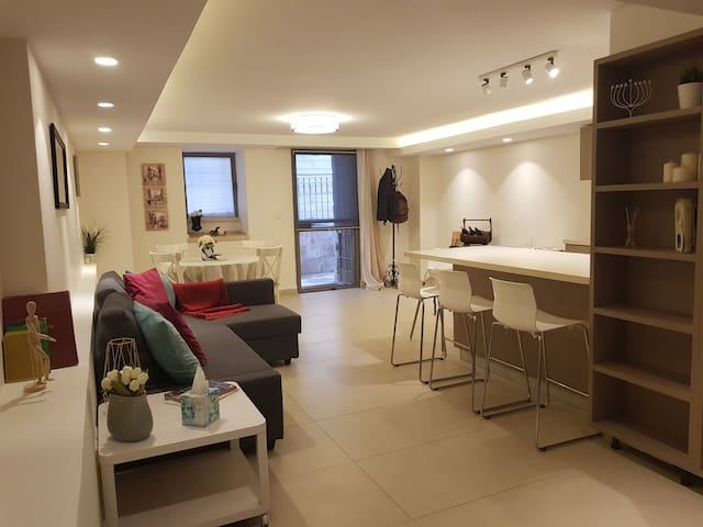 Beautiful appartement in the heart of Jérusalem