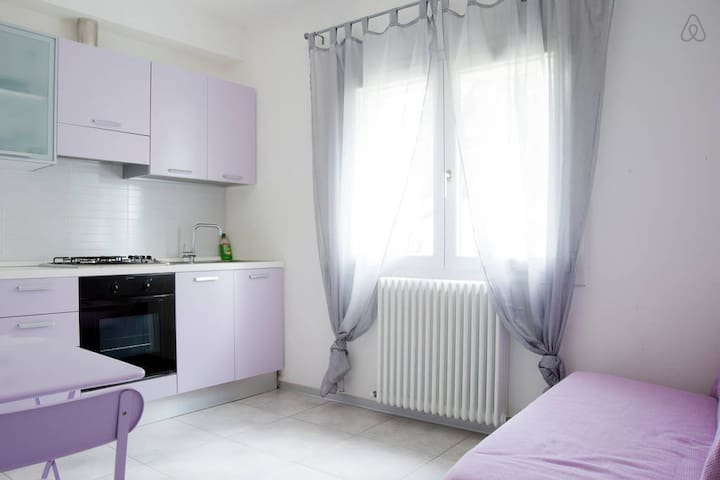 IGDR Pink Studio with kitchen & breakfast - Ferrara - Lägenhet