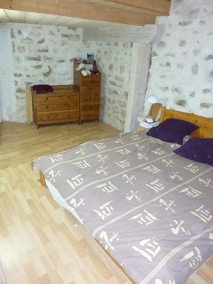 Bedrom with private salon