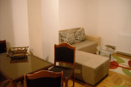 Perfectly located apartment - clean, comfortable and spacious room!   Apartment is located just a few minutes walk to almost all attractions of the city!  If you have any questions, feel free to ask! ;)
