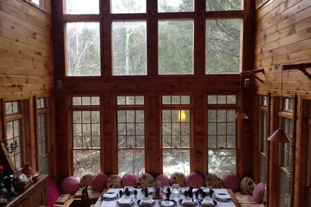 Streamside Cabin in the Catskills