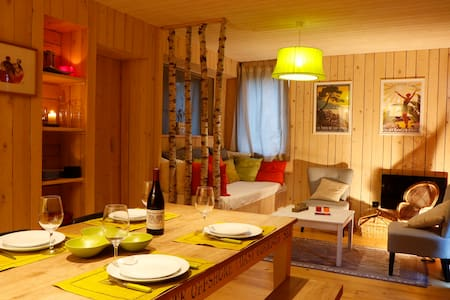 Wooden lodge with sauna, all comfort, Gap