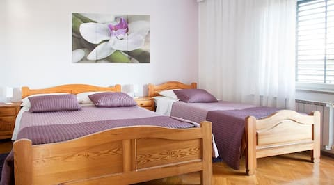 Guesthouse Rutar*** 20min from Opatija / 3 guests