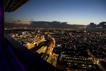 Amazing Apartment on 39th floor 771 - The Hague