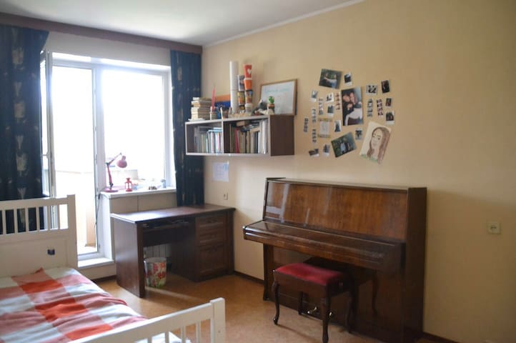 Room in the center of Moscow (20 min from Kremlin)