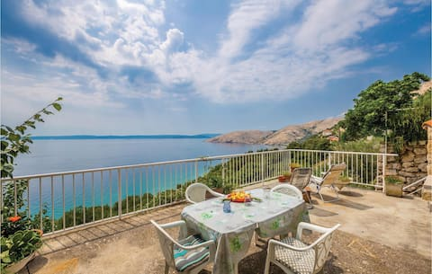 Holiday apartment with 1 bedroom on 48m² in Stara Baska