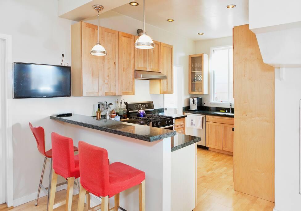 the kitchen i love