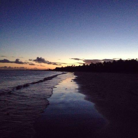 Chalé na praia - Cabrália/BA - Santa Cruz Cabrália - Chalet