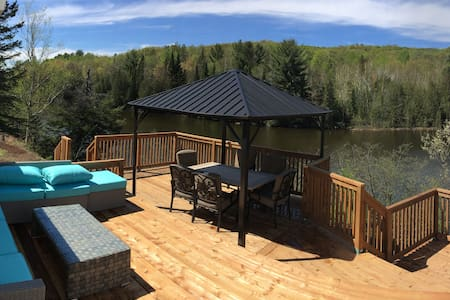Lake house with SPA,4Beds,WiFi+