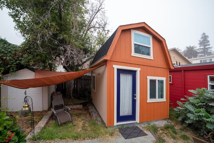 The Purple Door Tiny Home for Urban Adventures