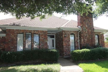 Cozy 4BD 3BA house in West Plano - Plano - Dom