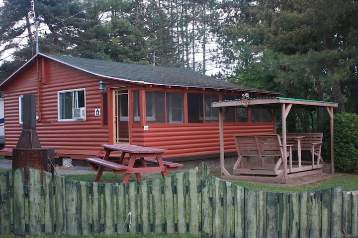 Our shack in Canada