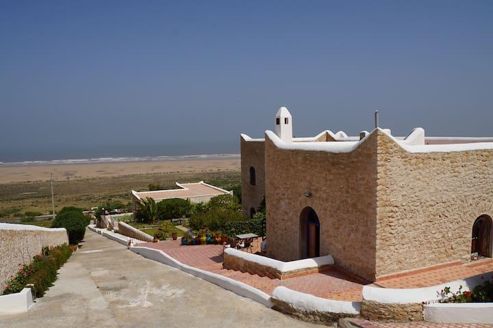 À 25mn Essaouira vue sur l'océan - เอสเซาอิรา - ที่พักพร้อมอาหารเช้า