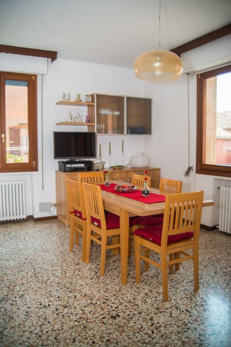 Living Room: - SAT TV - Dining Room - Terrace  - Air Conditioning