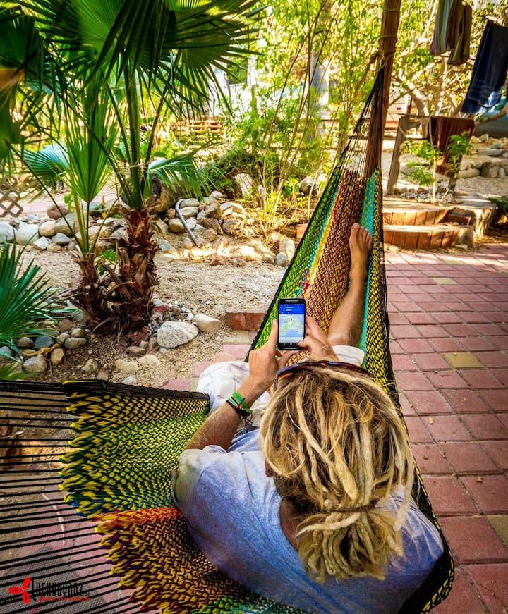 Garden Campsite in Cabo Centro ***Acampar