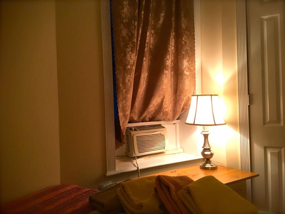 your room is nicely air-conditioned