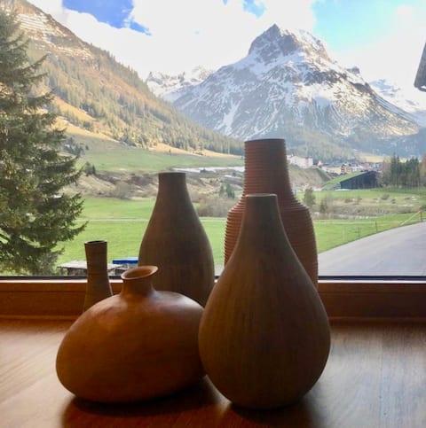 Contemporary Alpenapartment in Lech