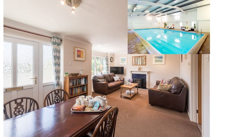 Briar Patch, dog friendly cottage and  indoor pool