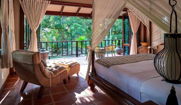 Luxury Three Bedroom Lush Pool Villa Hideout